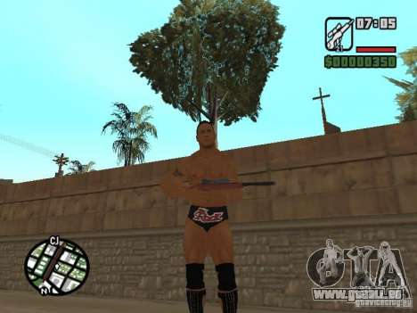 The rock für GTA San Andreas zweiten Screenshot