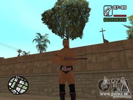 The rock pour GTA San Andreas deuxième écran