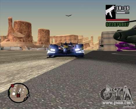 Acura ARX LMP1 für GTA San Andreas rechten Ansicht