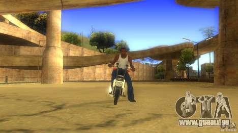 Honda Motocompo pour GTA San Andreas laissé vue