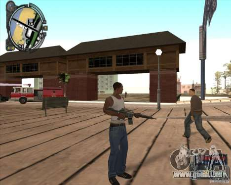 S.T.A.L.K.E.R. Call of Pripyat HUD for SA v1.0 pour GTA San Andreas
