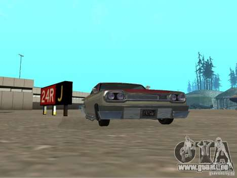 Vaudou de GTA 4 pour GTA San Andreas laissé vue