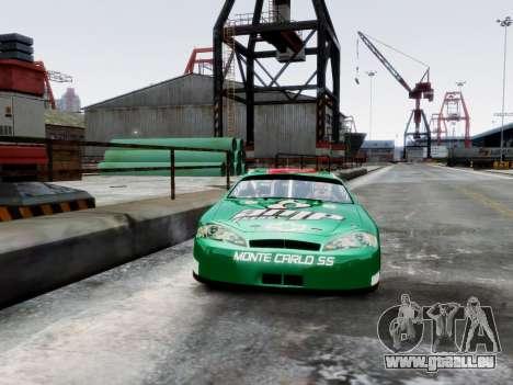 Chevrolet Monte Carlo SS 88 Nascar für GTA 4 Rückansicht