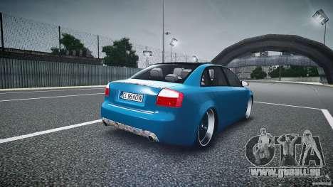 Audi S4 Custom pour GTA 4 est un côté
