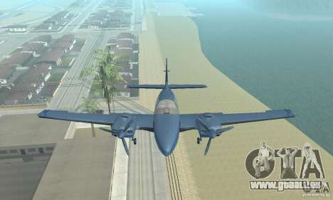 Beechcraft Baron 58 T für GTA San Andreas rechten Ansicht