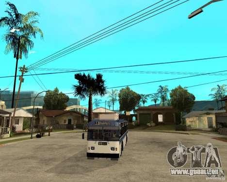 ZiU 52642 für GTA San Andreas Rückansicht