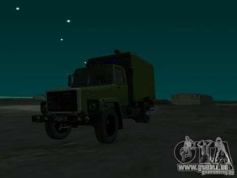 GAZ 3309 Paddy wagon für GTA San Andreas rechten Ansicht