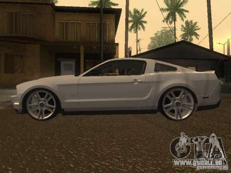 Ford Mustang 2011 GT für GTA San Andreas linke Ansicht
