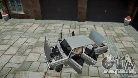 VAZ 2107 v1.0 pour GTA 4 Vue arrière