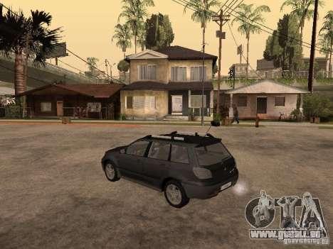 Mitsubishi Outlander 2003 für GTA San Andreas linke Ansicht