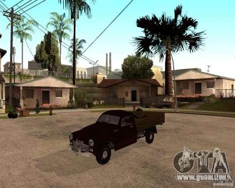 Gaz M-20 Pobeda PickUp pour GTA San Andreas