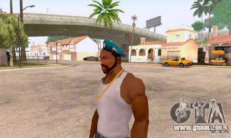 Béret AIRBORNE pour GTA San Andreas troisième écran