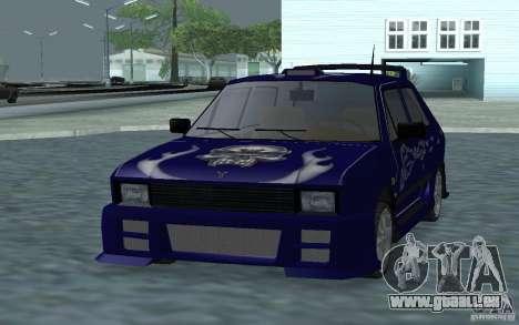 Yugo 45 Tuneable pour GTA San Andreas laissé vue
