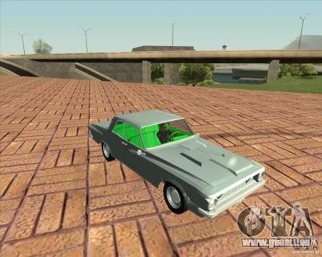 Plymouth Savoy 1962 pour GTA San Andreas sur la vue arrière gauche