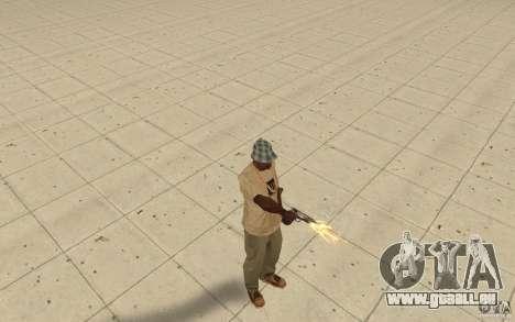 Différents styles de pistolet 9 mm pour GTA San Andreas deuxième écran