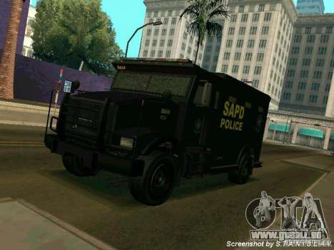 Stokade SAPD SWAT Van pour GTA San Andreas
