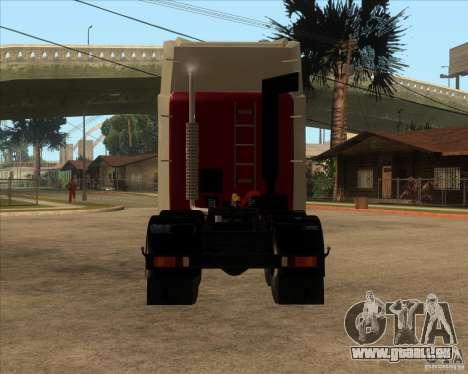 Super Zil v 2.0 pour GTA San Andreas sur la vue arrière gauche