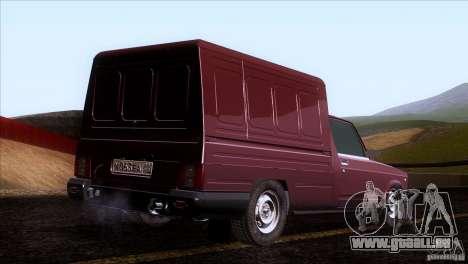IZH 27175 pour GTA San Andreas vue arrière