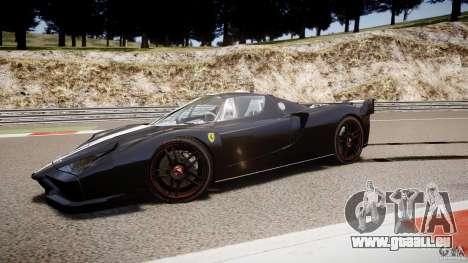 Ferrari FXX pour GTA 4 vue de dessus