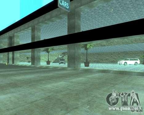 HD Motor Show pour GTA San Andreas cinquième écran
