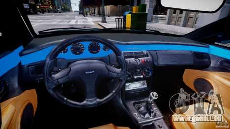 Fiat Coupe 2000 pour GTA 4 Vue arrière