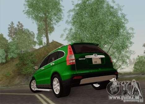 Honda CRV 2011 für GTA San Andreas rechten Ansicht
