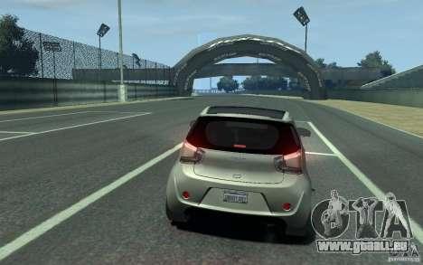 Aston Martin Cygnet 2011 pour GTA 4 Vue arrière de la gauche