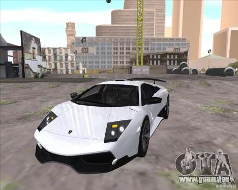 Lamborghini Murcielago LP670-4 SV für GTA San Andreas