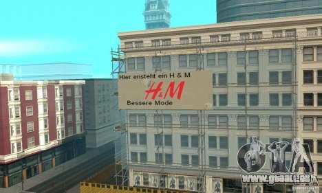 Werbeschildermod pour GTA San Andreas deuxième écran