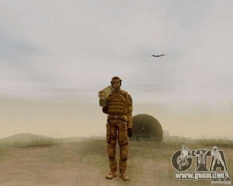 Tom Clancys Ghost Recon pour GTA San Andreas deuxième écran