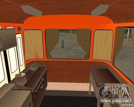 LIAZ-677 (moment de Café) pour GTA San Andreas vue de droite
