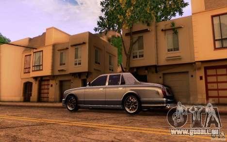 Bentley Arnage R 2005 für GTA San Andreas linke Ansicht