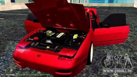 Nissan Onivia pour GTA San Andreas vue arrière