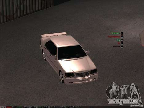 Mercedes-Benz 600SEL AMG 1993 für GTA San Andreas Rückansicht