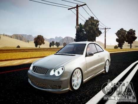 Mercedes-Benz CLK63 AMG Final pour GTA 4