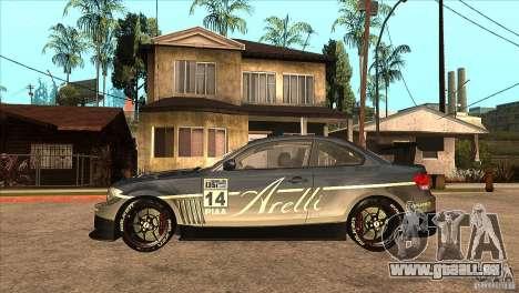 BMW 135i Coupe GP Edition Skin 3 pour GTA San Andreas laissé vue