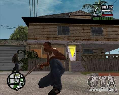 Revolver für GTA San Andreas dritten Screenshot