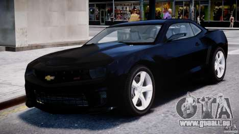 Chevrolet Camaro SS 2009 v2.0 pour GTA 4 est un côté