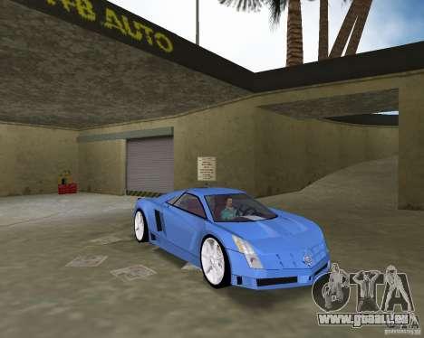 Cadillac Cien für GTA Vice City rechten Ansicht