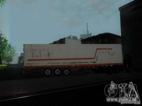 Reefer Trailer für GTA San Andreas