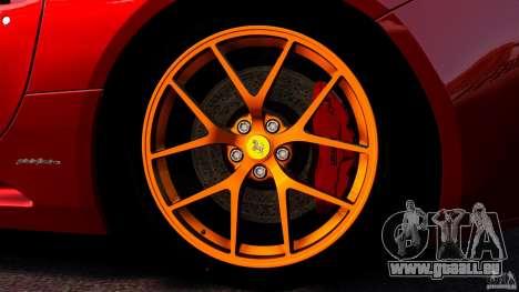 Ferrari California Novitec pour GTA 4 est une vue de dessous
