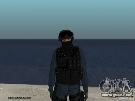RIOT POLICE Officer für GTA San Andreas