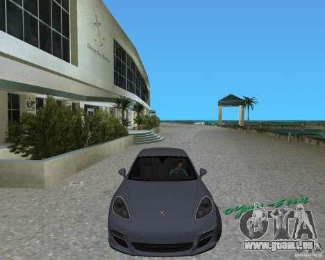 Porsche Panamera pour GTA Vice City