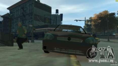Opel Corsa B Tuning pour GTA 4 est une vue de l'intérieur