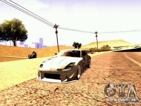 Nissan 350Z Avon Tires für GTA San Andreas