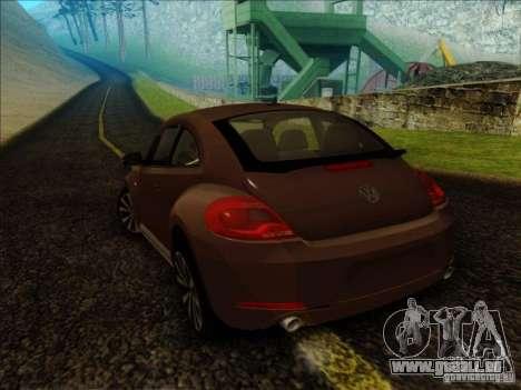 Volkswagen Beetle Turbo 2012 für GTA San Andreas linke Ansicht