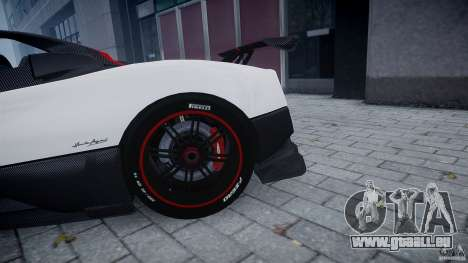 Pagani Zonda Cinque Roadster für GTA 4 Innenansicht