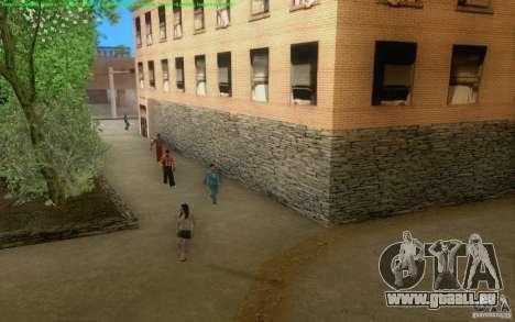 Konkrete Straßen von Los Santos Beta für GTA San Andreas sechsten Screenshot