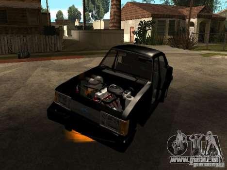 Chevrolet Opala BMT pour GTA San Andreas vue de droite