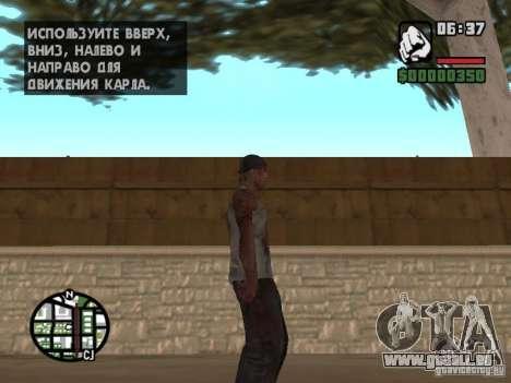 Markus young pour GTA San Andreas cinquième écran